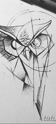 черно белый эскиз тату геометрия 09.03.2019 №014 – tattoo sketch – tatufoto.com