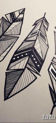 черно белый эскиз тату геометрия 09.03.2019 №028 – tattoo sketch – tatufoto.com
