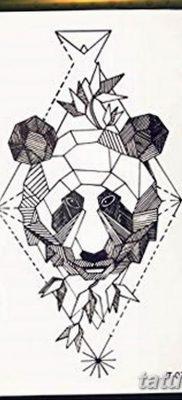 черно белый эскиз тату геометрия 09.03.2019 №032 – tattoo sketch – tatufoto.com