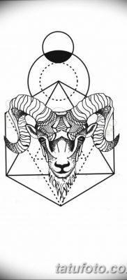 черно белый эскиз тату геометрия 09.03.2019 №044 – tattoo sketch – tatufoto.com