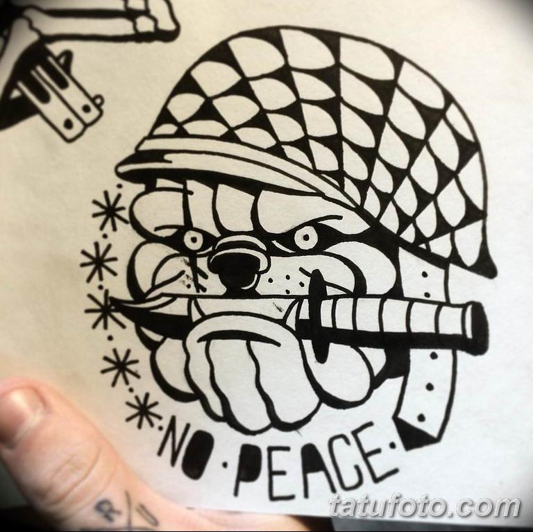 черно белый эскиз тату пример 09.03.2019 №080 - tattoo sketch - tatufoto.com