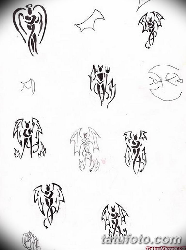 черно белый эскиз тату пример 09.03.2019 №082 - tattoo sketch - tatufoto.com