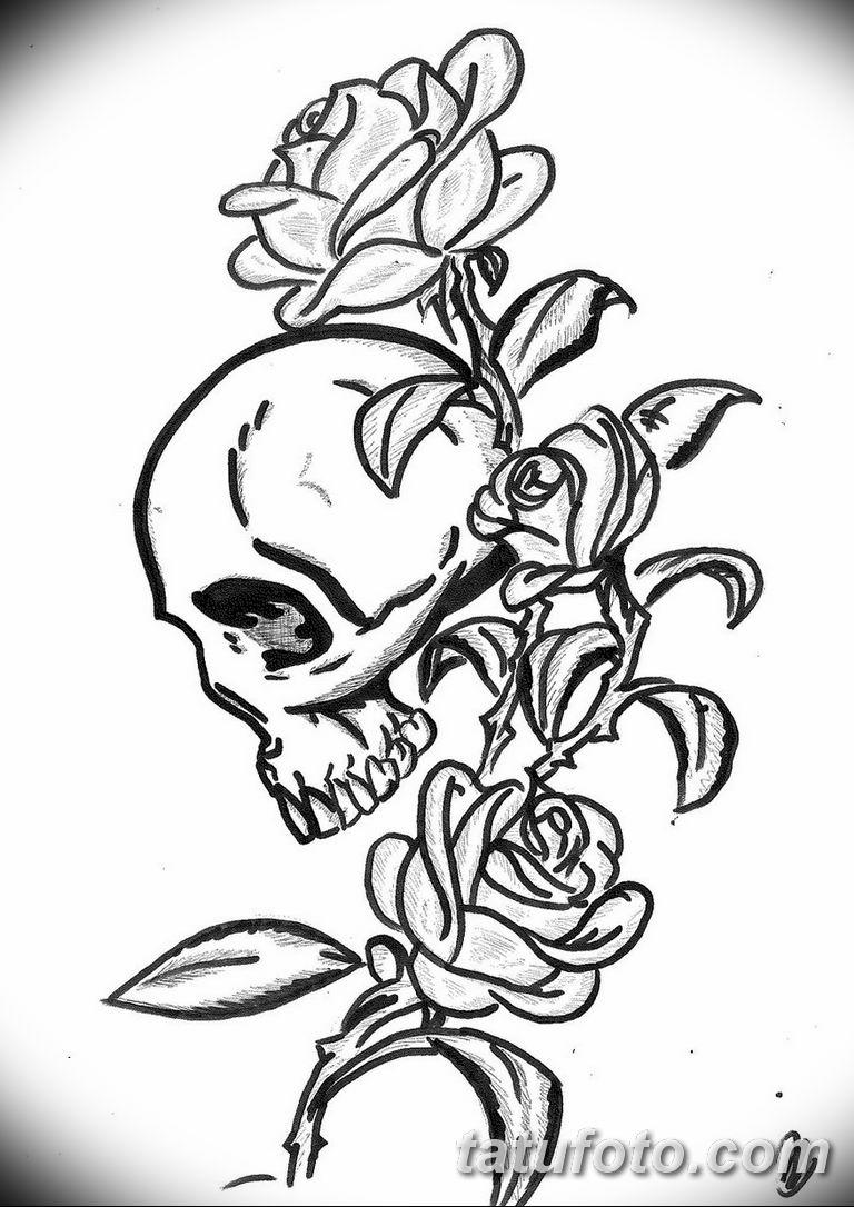 черно белый эскиз тату пример 09.03.2019 №083 - tattoo sketch - tatufoto.com