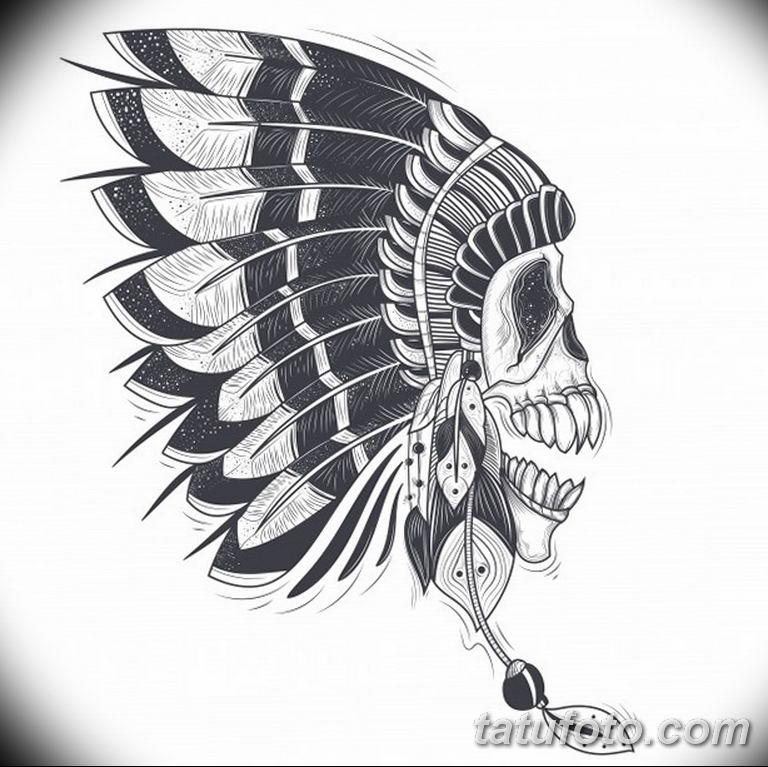 черно белый эскиз тату пример 09.03.2019 №084 - tattoo sketch - tatufoto.com