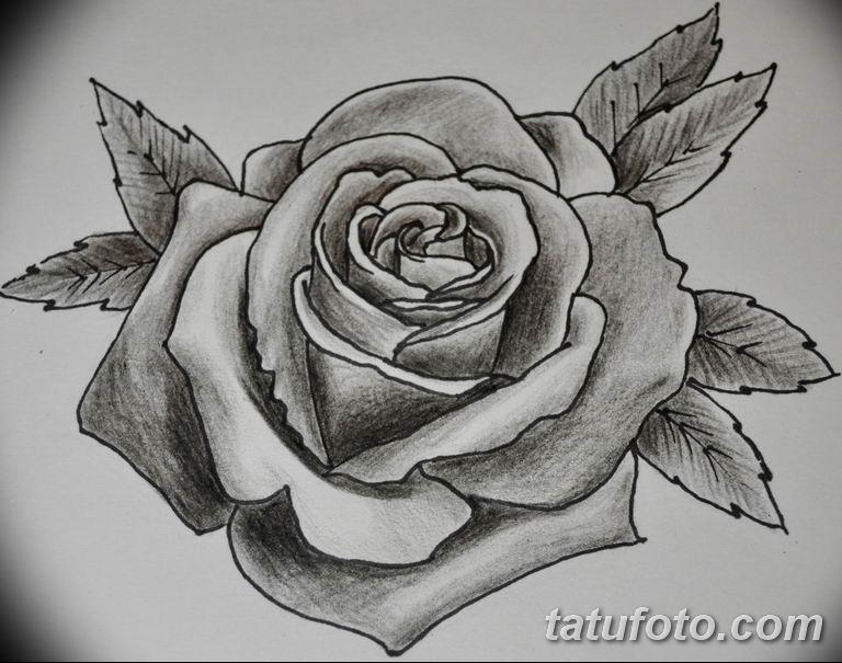 черно белый эскиз тату пример 09.03.2019 №087 - tattoo sketch - tatufoto.com