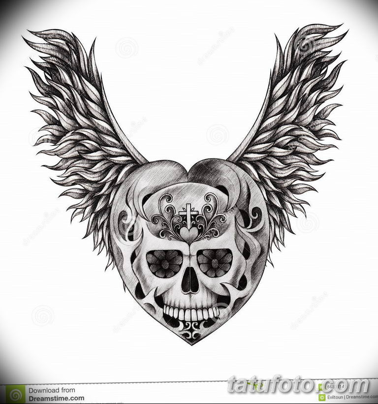 черно белый эскиз тату рисункок ангел 11.03.2019 №044 - tattoo sketch - tatufoto.com