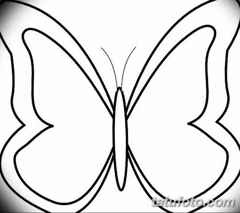 черно белый эскиз тату рисункок бабочка 11.03.2019 №080 - tattoo sketch - tatufoto.com