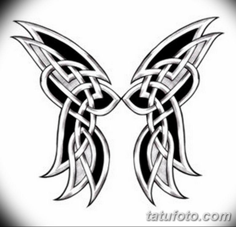 черно белый эскиз тату рисункок бабочка 11.03.2019 №083 - tattoo sketch - tatufoto.com