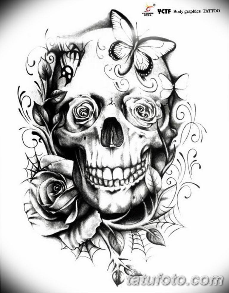 черно белый эскиз тату рисункок бабочка 11.03.2019 №090 - tattoo sketch - tatufoto.com