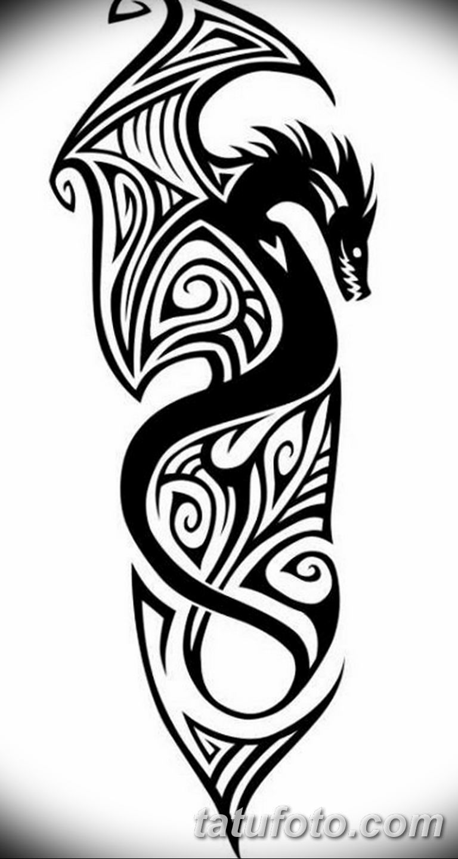 черно белый эскиз тату рисункок вариант 11.03.2019 №009 - tattoo sketch - tatufoto.com