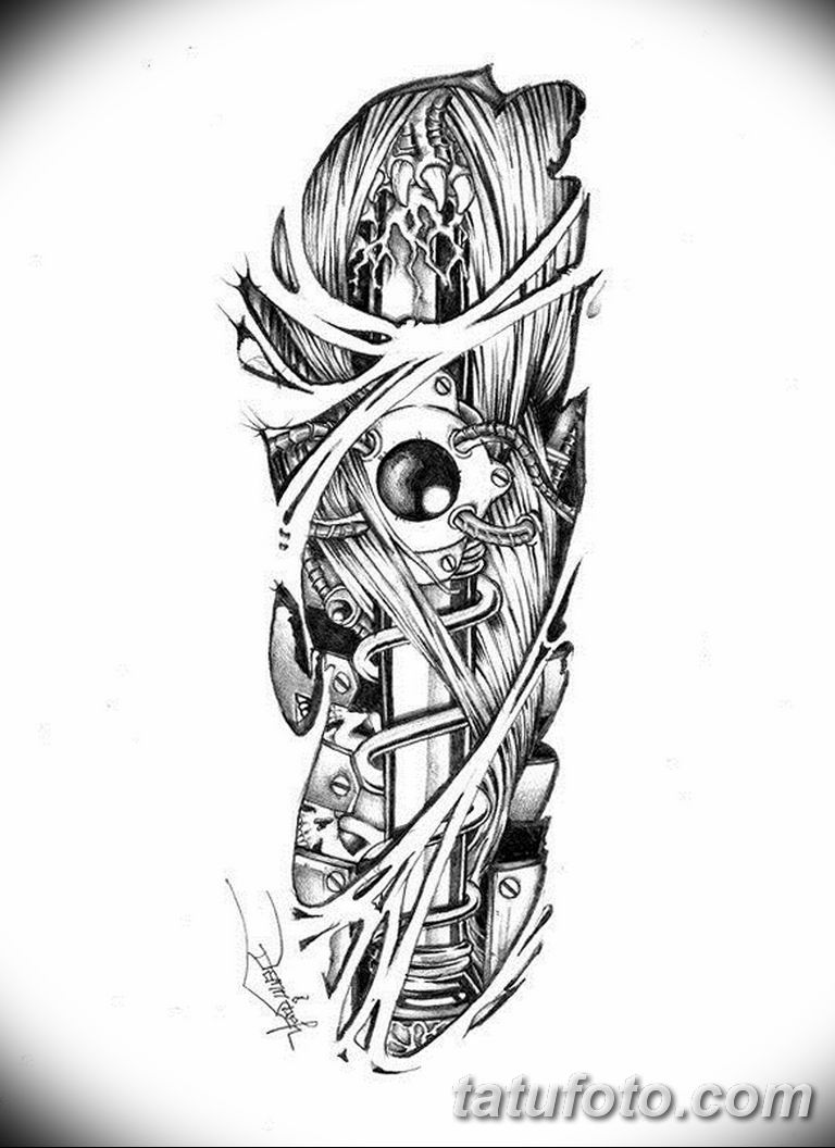 черно белый эскиз тату рисункок вариант 11.03.2019 №019 - tattoo sketch - tatufoto.com