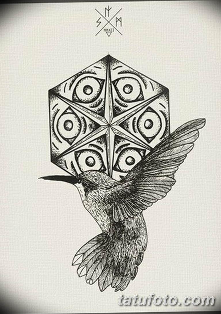 черно белый эскиз тату рисункок вариант 11.03.2019 №022 - tattoo sketch - tatufoto.com