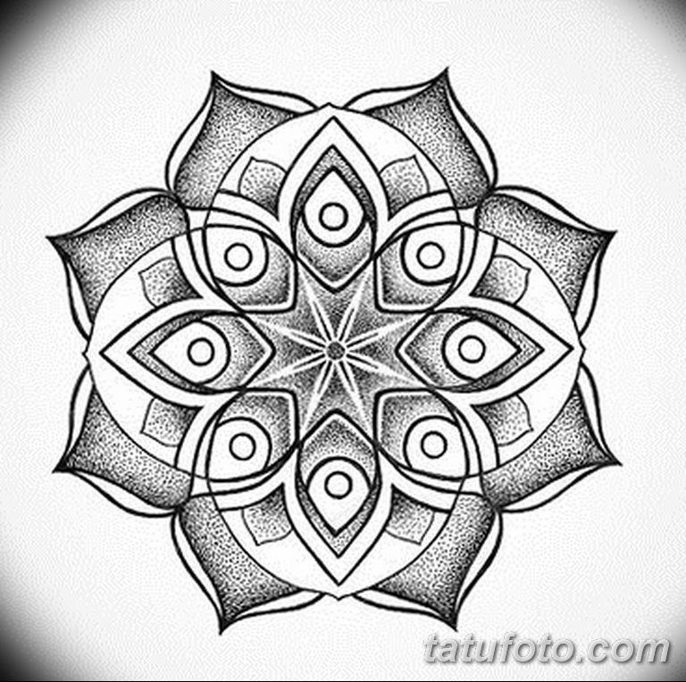 черно белый эскиз тату рисункок вариант 11.03.2019 №026 - tattoo sketch - tatufoto.com