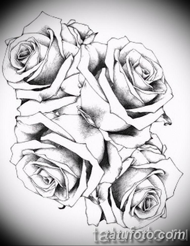 черно белый эскиз тату рисункок вариант 11.03.2019 №045 - tattoo sketch - tatufoto.com