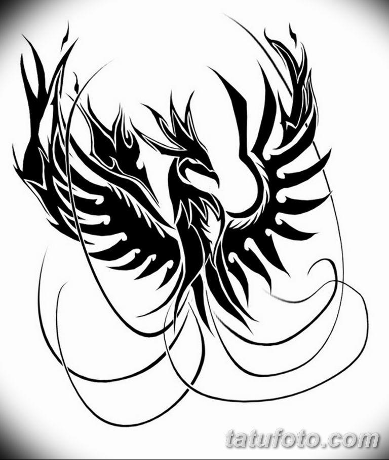 черно белый эскиз тату рисункок вариант 11.03.2019 №050 - tattoo sketch - tatufoto.com