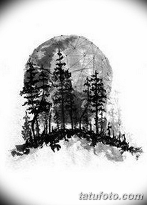 черно белый эскиз тату рисункок вариант 11.03.2019 №060 - tattoo sketch - tatufoto.com