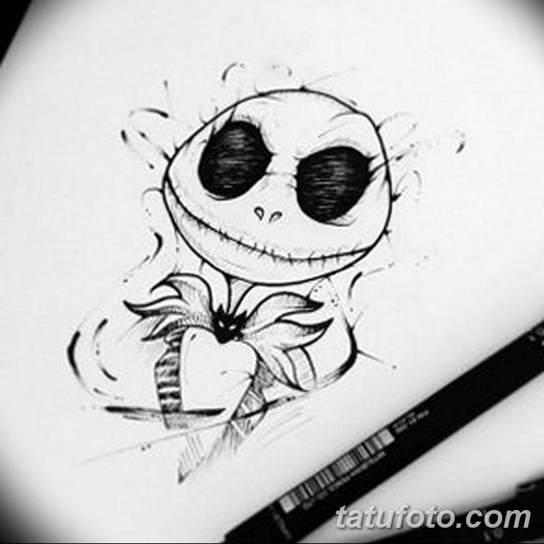 черно белый эскиз тату рисункок вариант 11.03.2019 №061 - tattoo sketch - tatufoto.com