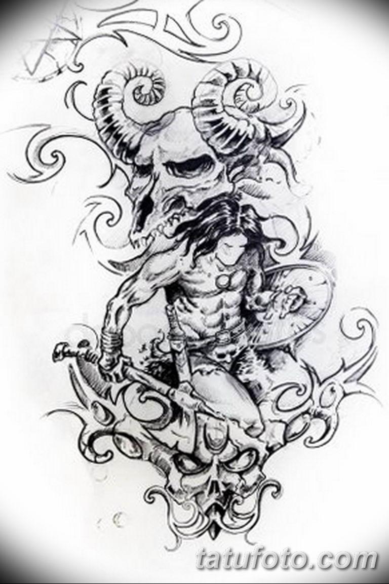 черно белый эскиз тату рисункок вариант 11.03.2019 №062 - tattoo sketch - tatufoto.com