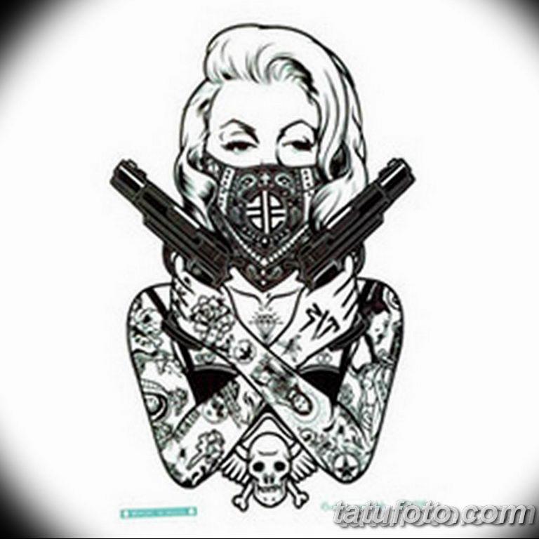 черно белый эскиз тату рисункок вариант 11.03.2019 №064 - tattoo sketch - tatufoto.com