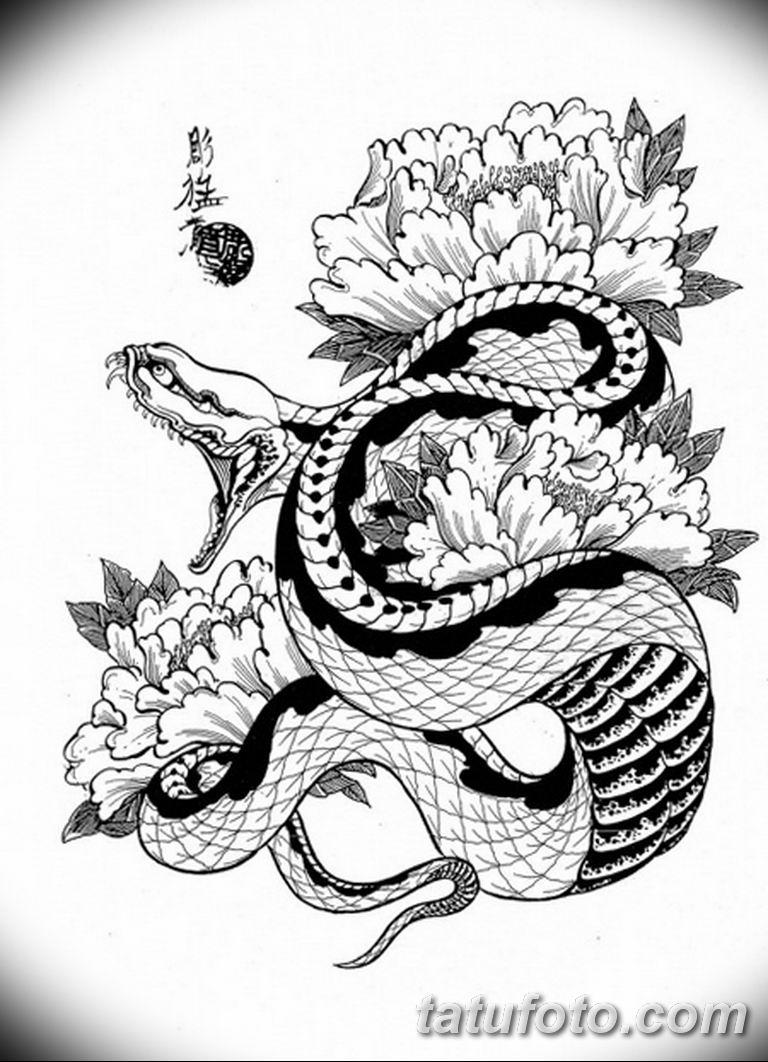 черно белый эскиз тату рисункок вариант 11.03.2019 №065 - tattoo sketch - tatufoto.com