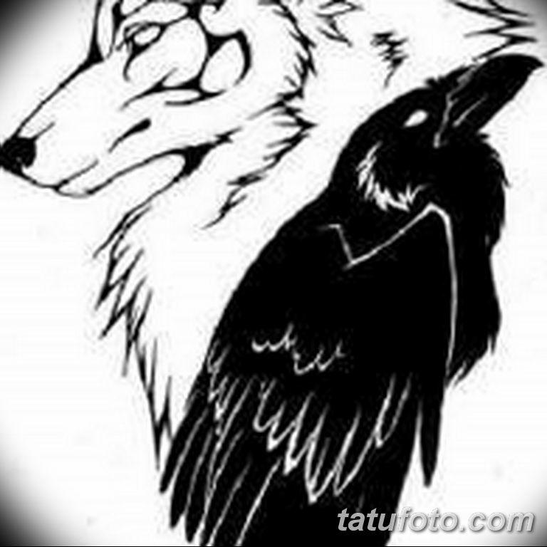 черно белый эскиз тату рисункок вариант 11.03.2019 №086 - tattoo sketch - tatufoto.com