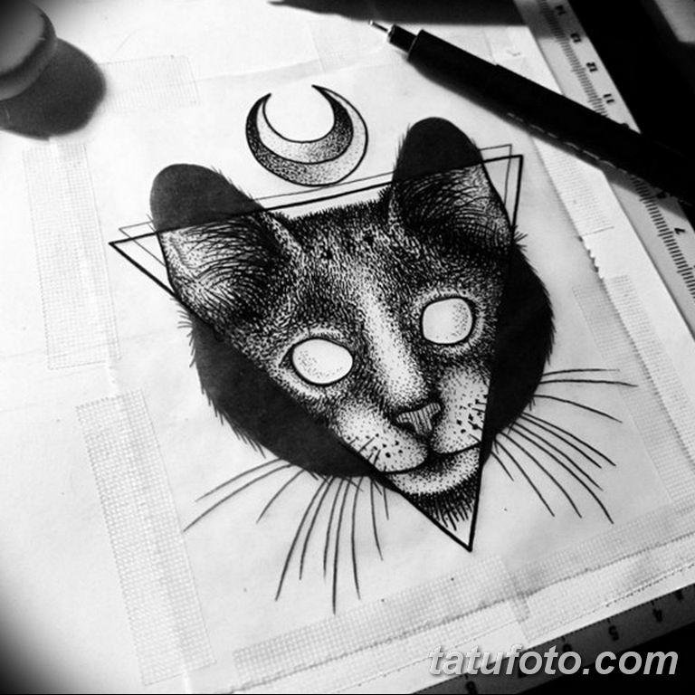 черно белый эскиз тату рисункок вариант 11.03.2019 №087 - tattoo sketch - tatufoto.com