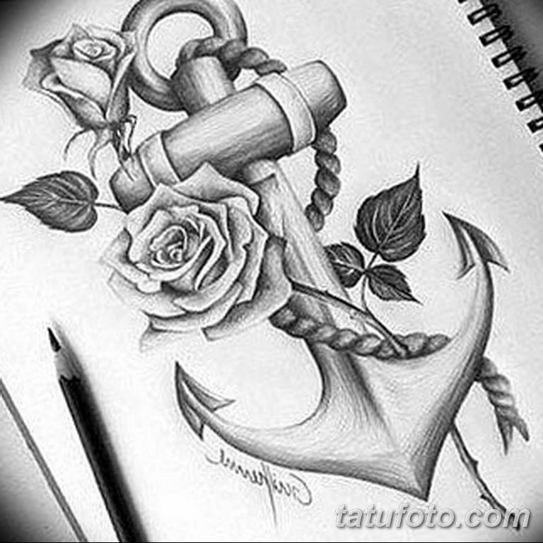 черно белый эскиз тату рисункок вариант 11.03.2019 №092 - tattoo sketch - tatufoto.com
