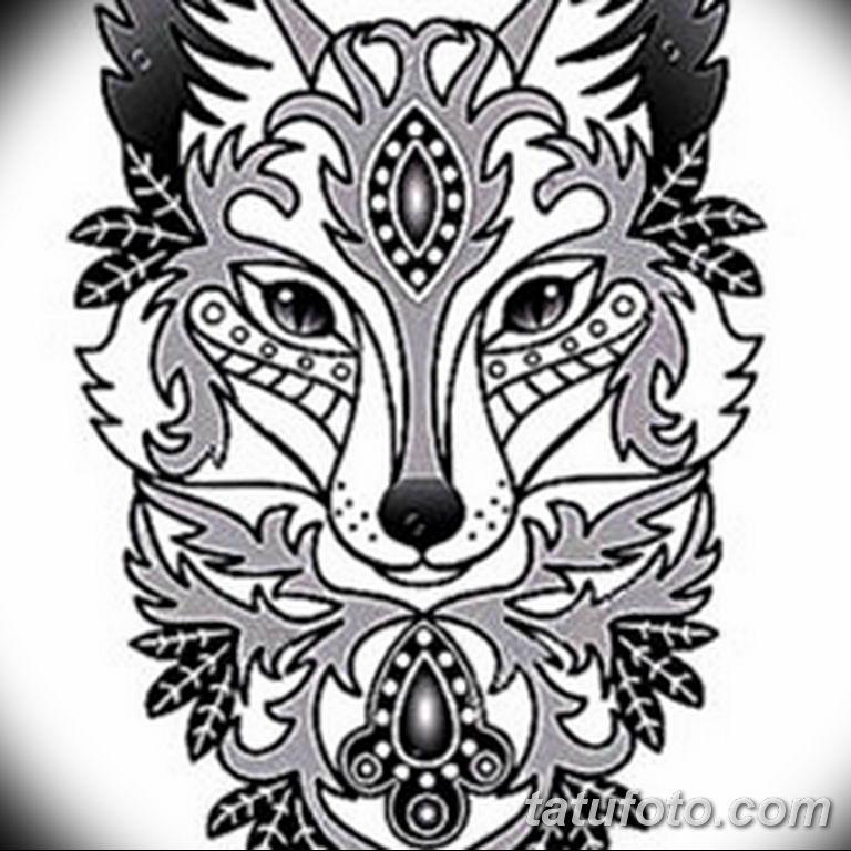 черно белый эскиз тату рисункок вариант 11.03.2019 №094 - tattoo sketch - tatufoto.com