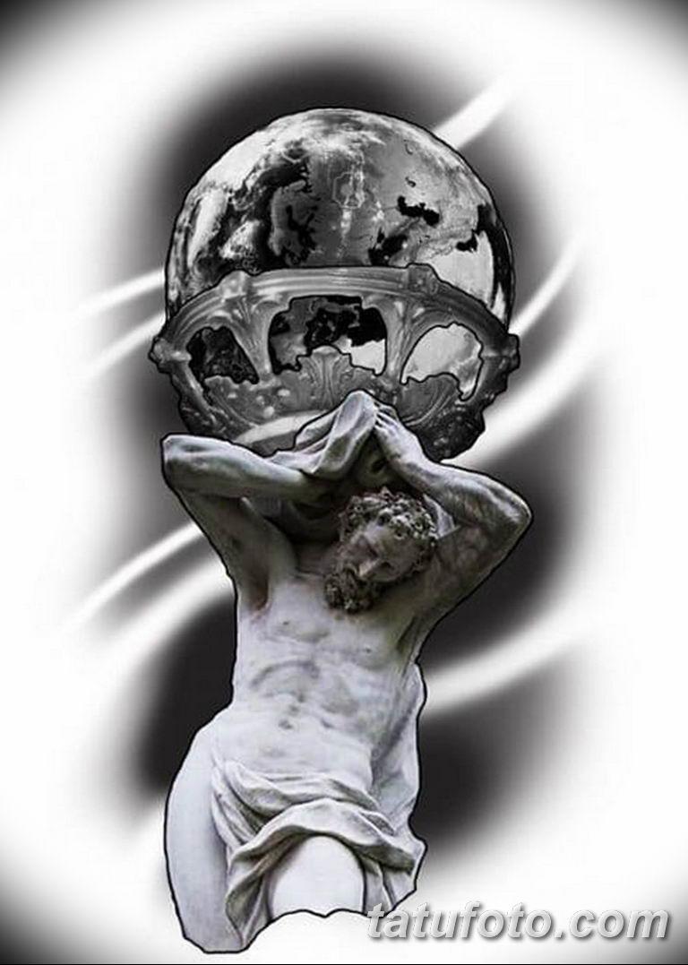 черно белый эскиз тату рисункок вариант 11.03.2019 №101 - tattoo sketch - tatufoto.com