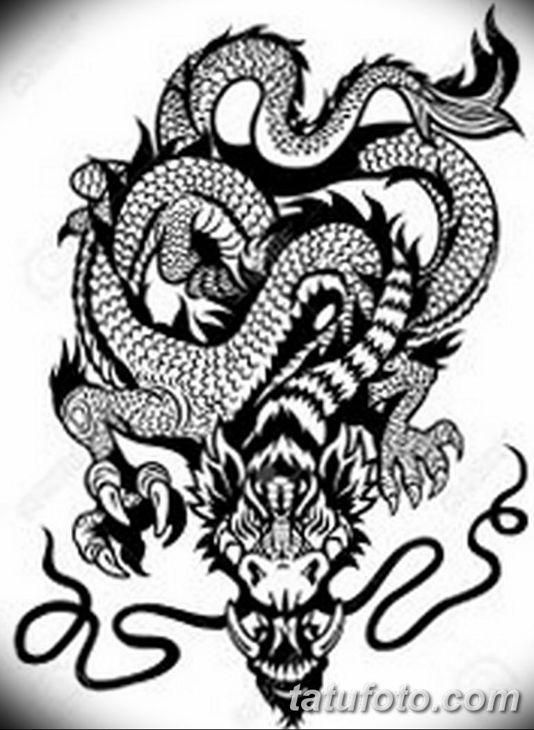 черно белый эскиз тату рисункок вариант 11.03.2019 №109 - tattoo sketch - tatufoto.com