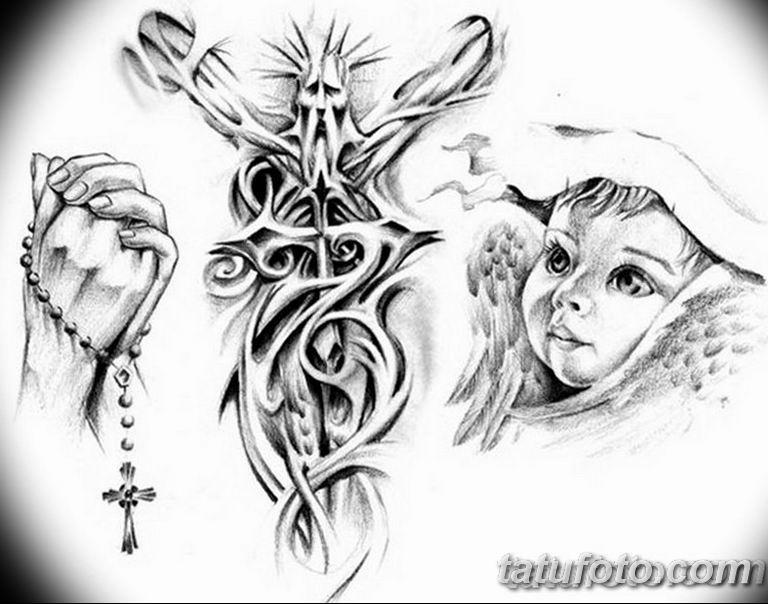 черно белый эскиз тату рисункок вариант 11.03.2019 №110 - tattoo sketch - tatufoto.com