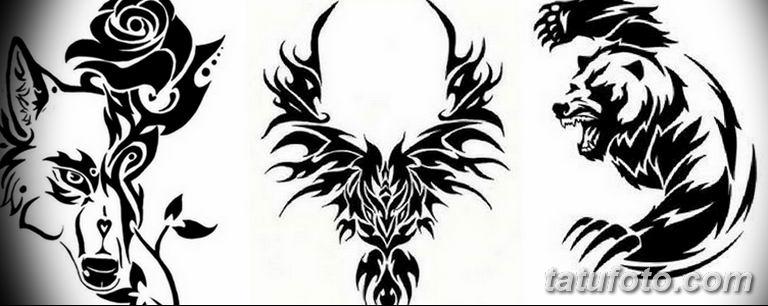 черно белый эскиз тату рисункок вариант 11.03.2019 №119 - tattoo sketch - tatufoto.com