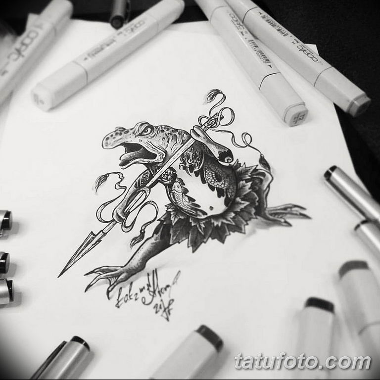 черно белый эскиз тату рисункок вариант 11.03.2019 №132 - tattoo sketch - tatufoto.com