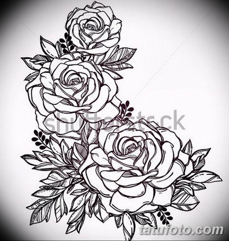 черно белый эскиз тату рисункок вариант 11.03.2019 №134 - tattoo sketch - tatufoto.com