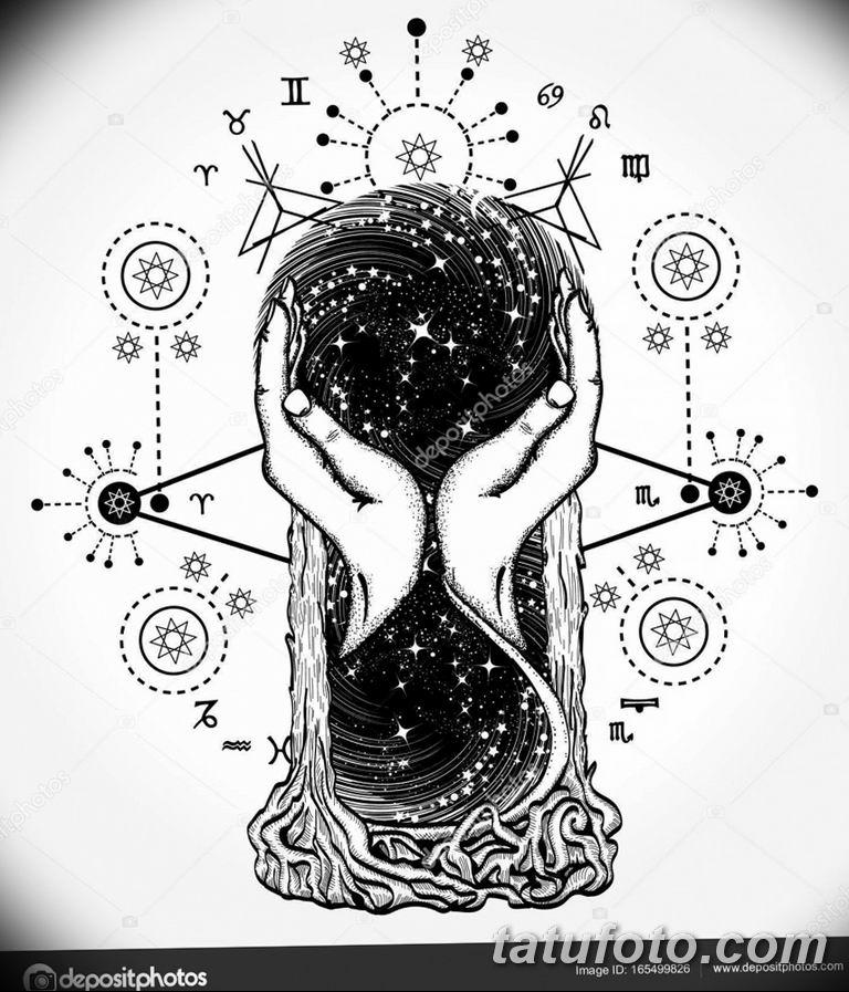 черно белый эскиз тату рисункок вариант 11.03.2019 №140 - tattoo sketch - tatufoto.com