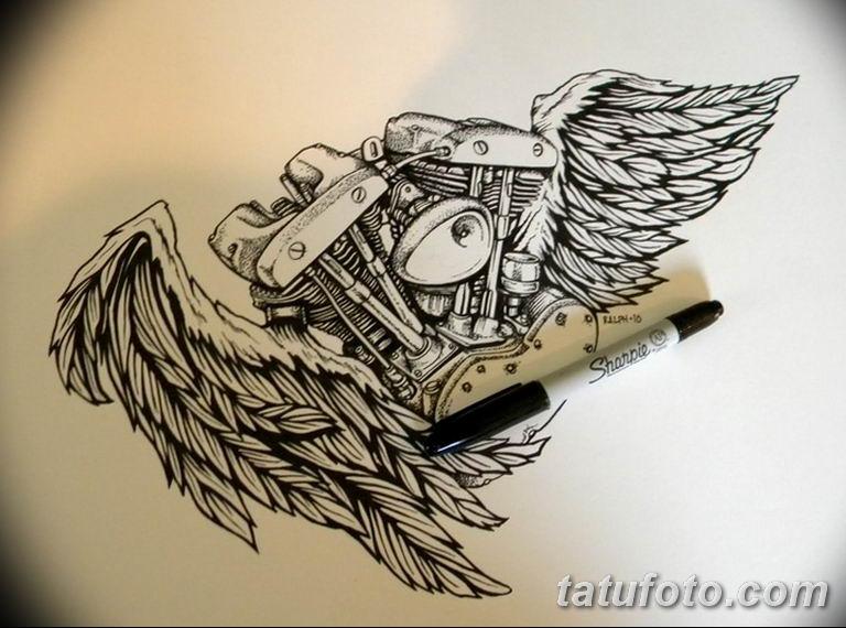 черно белый эскиз тату рисункок вариант 11.03.2019 №141 - tattoo sketch - tatufoto.com
