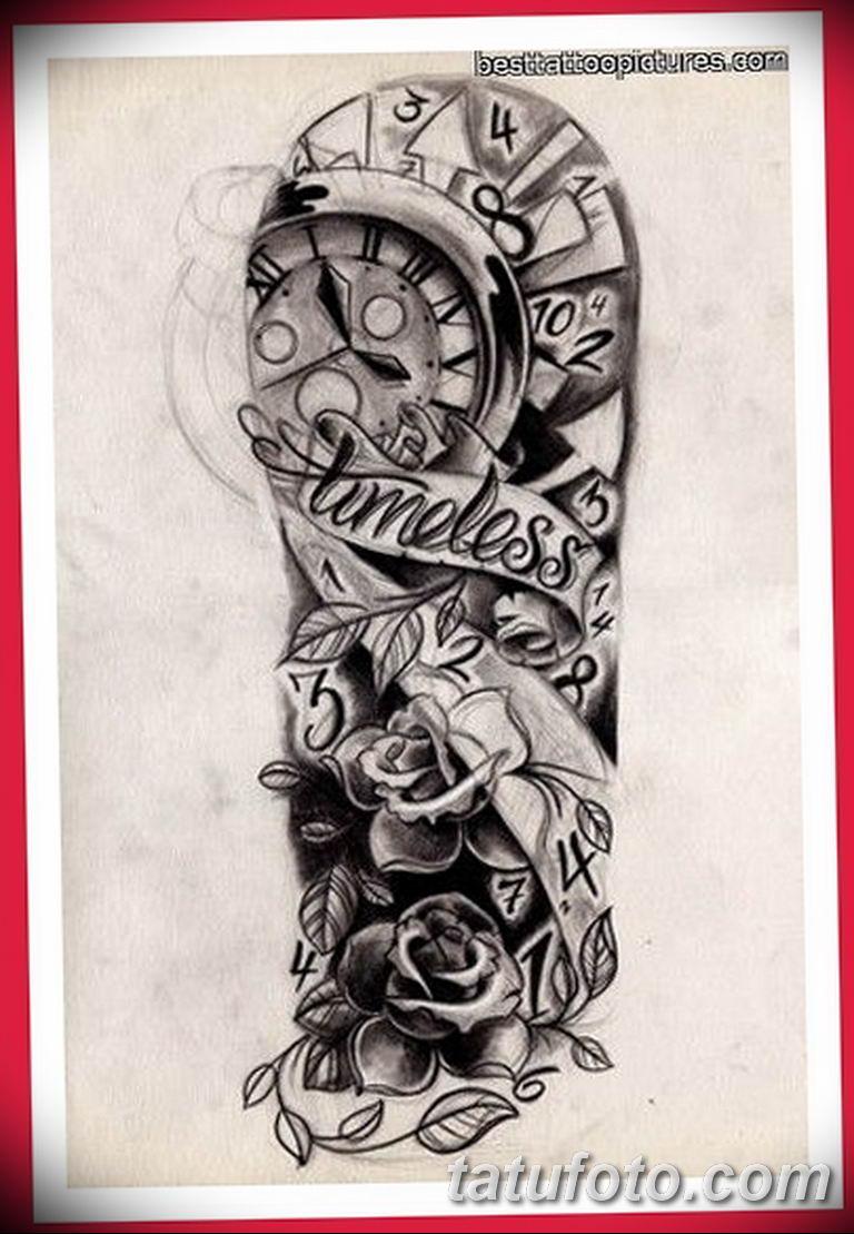 черно белый эскиз тату рисункок для парней11.03.2019 №002 - tattoo sketch - tatufoto.com
