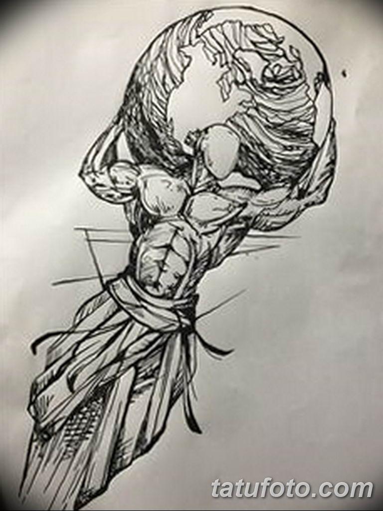 черно белый эскиз тату рисункок для парней11.03.2019 №007 - tattoo sketch - tatufoto.com