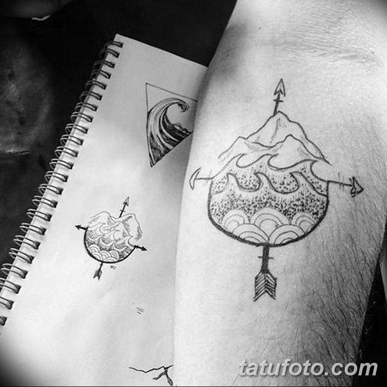 черно белый эскиз тату рисункок для парней11.03.2019 №019 - tattoo sketch - tatufoto.com