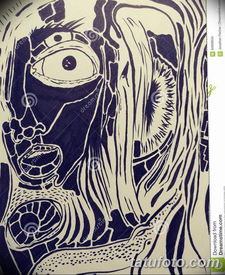 черно белый эскиз тату рисункок для парней11.03.2019 №031 - tattoo sketch - tatufoto.com
