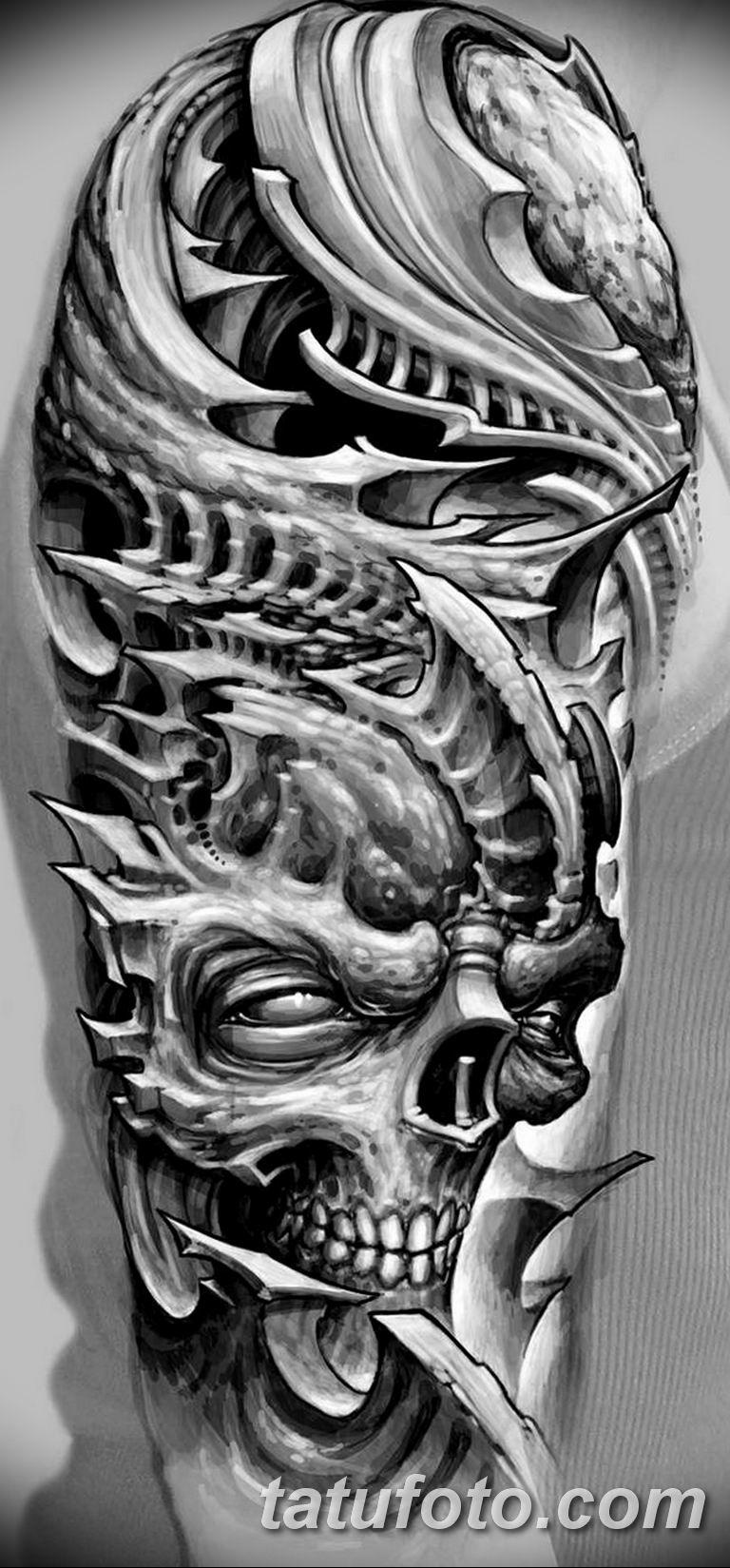черно белый эскиз тату рисункок для парней11.03.2019 №040 - tattoo sketch - tatufoto.com