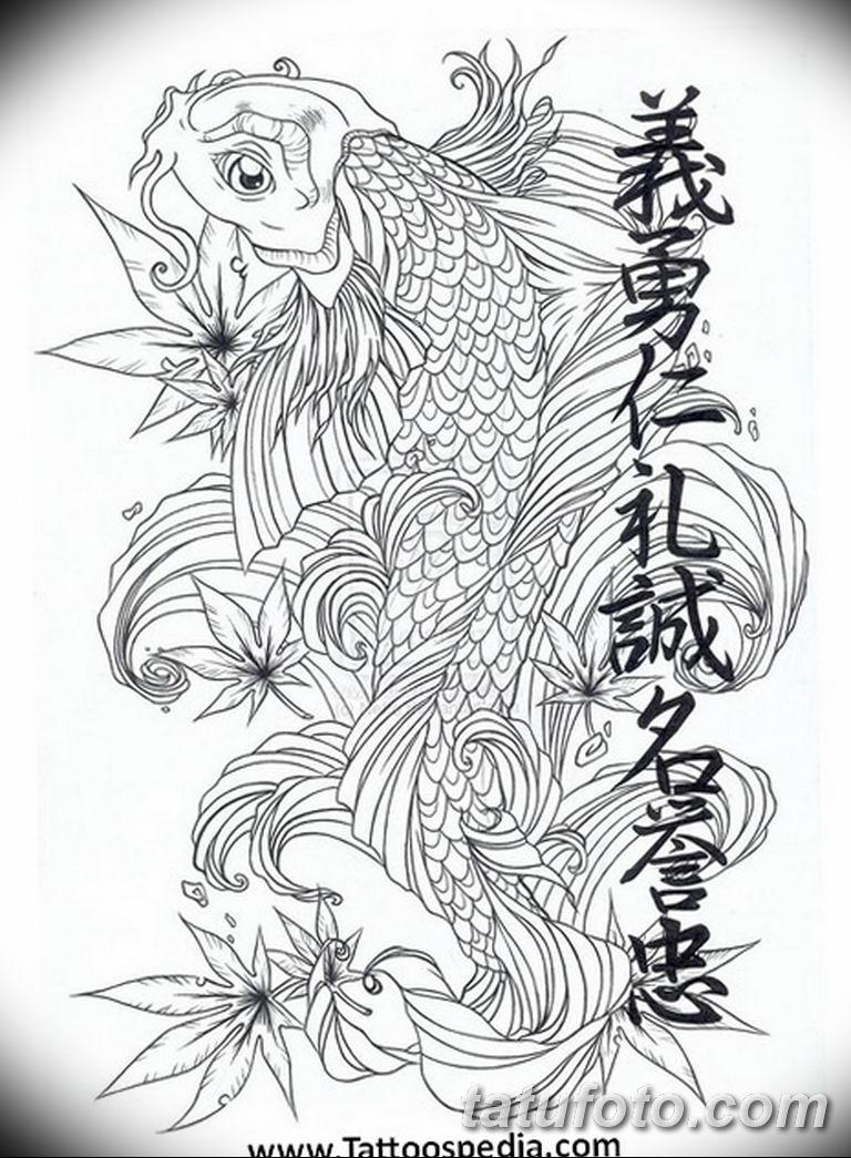 Черно белый эскиз тату с цветами: черно белый эскиз тату рукав на руку 11.03.2019 №032