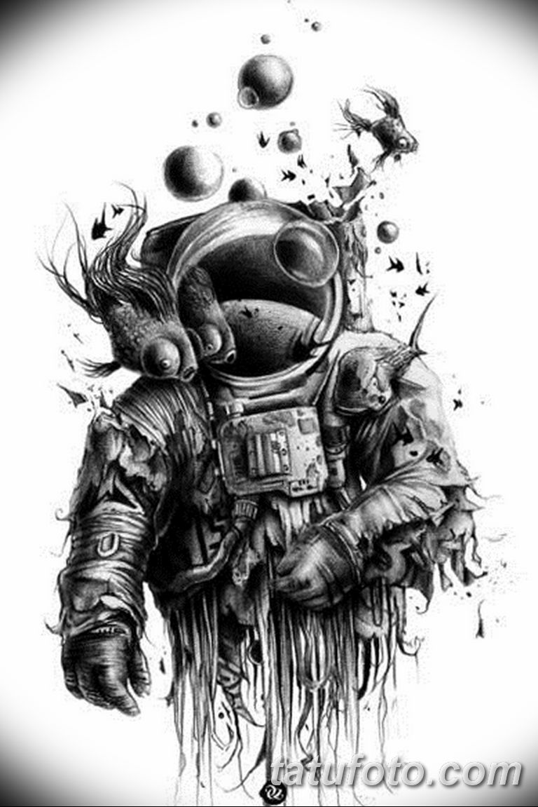 Черно белый эскиз тату с цветами: черно белый эскиз тату рукав на руку 11.03.2019 №043