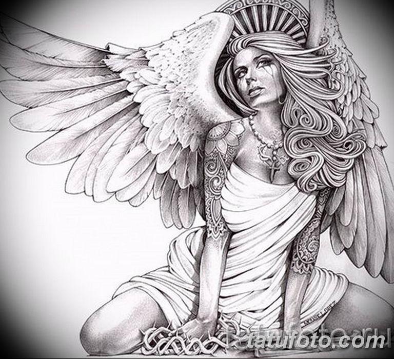 черный тату эскиз для девушки 08.03.2019 №039 - tattoo sketches - tatufoto.com