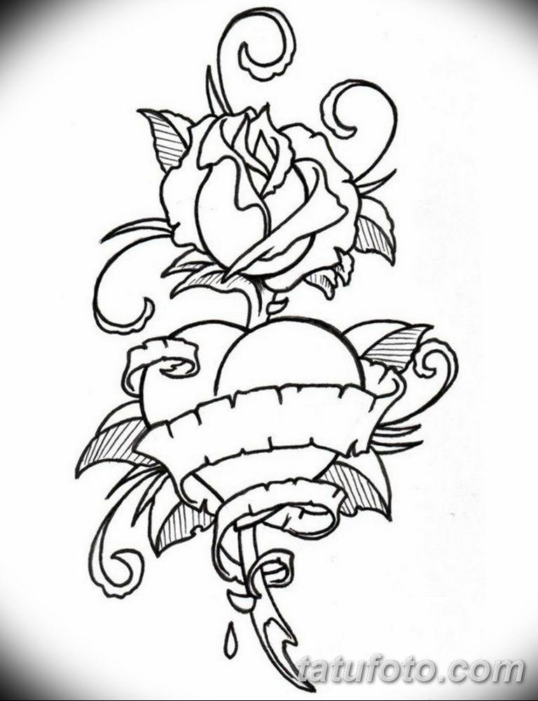 черный тату эскиз для девушки 08.03.2019 №076 - tattoo sketches - tatufoto.com