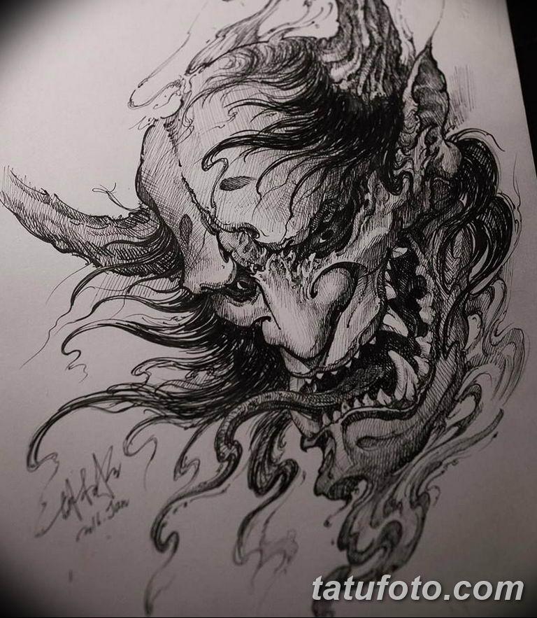 черный тату эскиз для девушки 08.03.2019 №081 - tattoo sketches - tatufoto.com