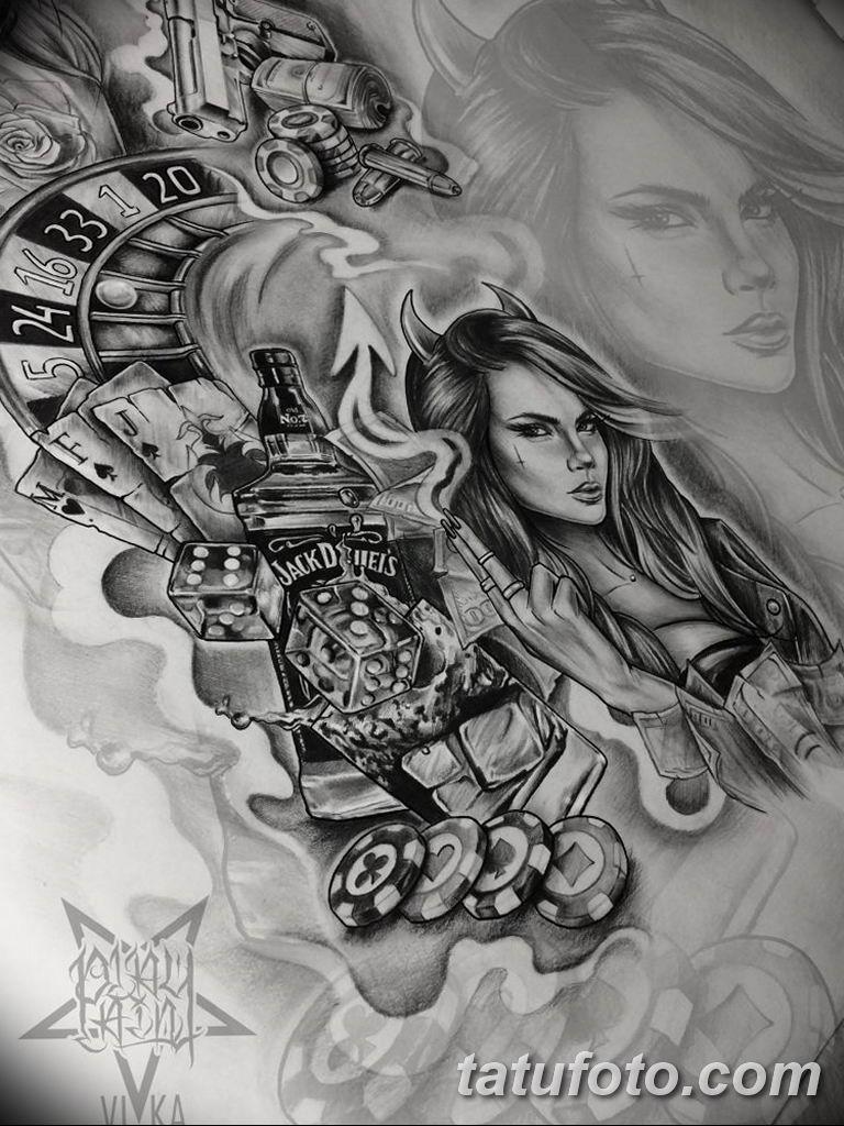 чикано тату эскизы девушки 08.03.2019 №039 - tattoo sketches - tatufoto.com
