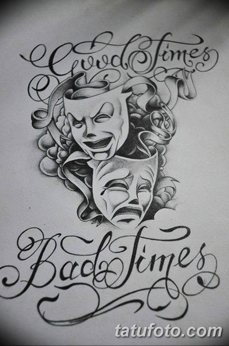 чикано тату эскизы девушки 08.03.2019 №064 - tattoo sketches - tatufoto.com