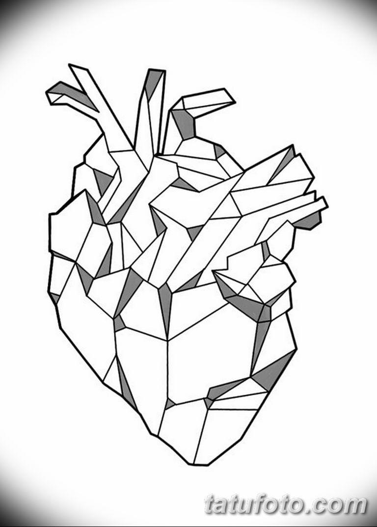 эскизы тату для девушек геометрия 08.03.2019 №013 - tattoo sketches - tatufoto.com