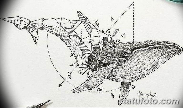 эскизы тату для девушек геометрия 08.03.2019 №018 - tattoo sketches - tatufoto.com